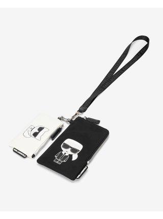 Peňaženky pre ženy KARL LAGERFELD - čierna, biela
