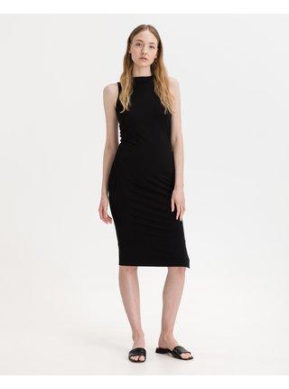 Šaty na denné nosenie pre ženy KARL LAGERFELD - čierna