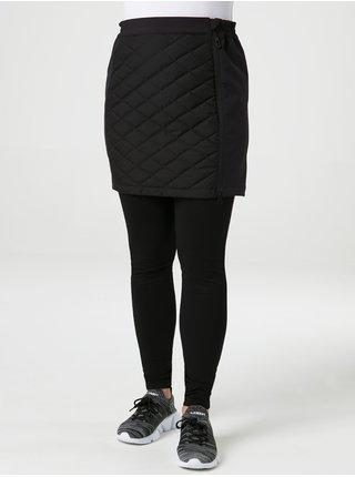 Černá dámská softshellová zimní sukně LOAP Lehsuka