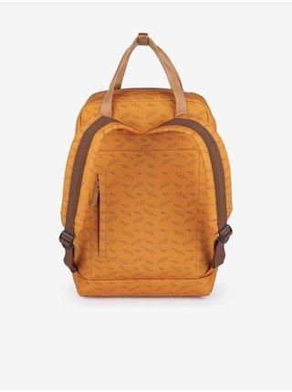 Žlutý dámský vzorovaný batoh LOAP Reina