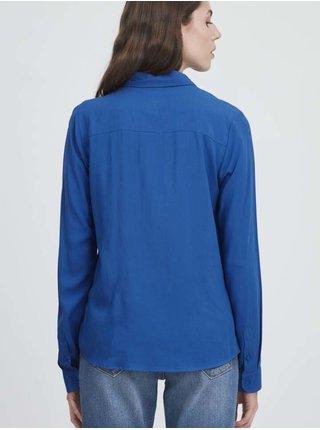 Košele pre ženy ICHI - modrá