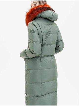Kabáty pre ženy KARA - zelená