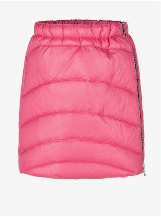 Růžová holčičí prošívaná zimní sukně LOAP Ingrusa