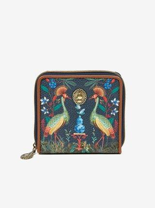 Tmavomodrá dámska peňaženka PiP studio Flirting Birds