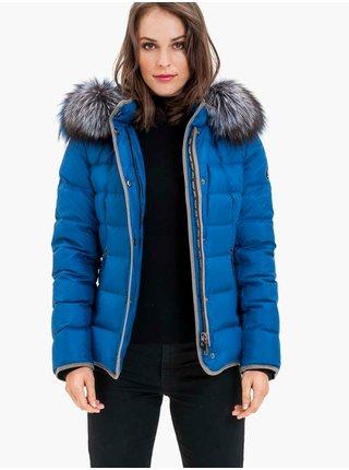 Zimné bundy pre ženy KARA - modrá