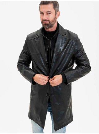 Kabáty pre mužov KARA - čierna