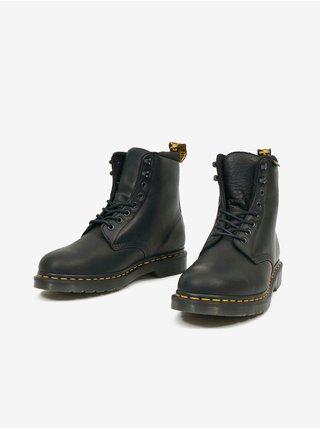 Černé unisex kotníkové boty Dr. Martens Vegan 1460