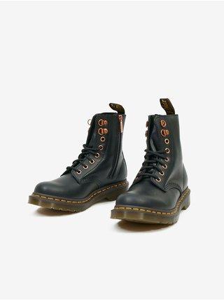 Černé dámské kotníkové boty Dr. Martens 1461 Hdw