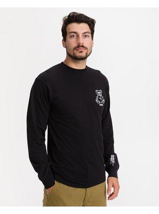 Bielo-čierne pánske tričko s potlačou VANS World Code