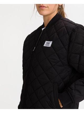 Černá dámská prošívaná bunda VANS Boom