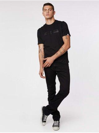 Tričká s krátkym rukávom pre mužov GAS - čierna