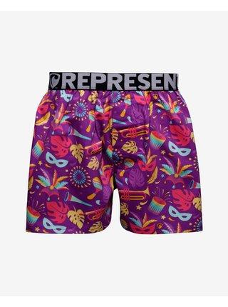 Trenírky pre mužov Represent - fialová