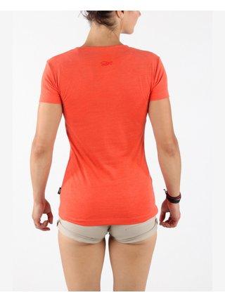 Tričká s krátkym rukávom pre ženy SAM 73 - červená