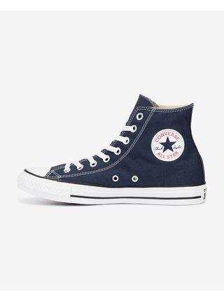 Tmavomodré unisex členkové tenisky Converse Chuck Taylor All Star