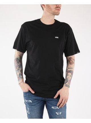 Černé pánské tričko VANS Left Chest Logo