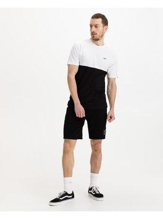 Tričká s krátkym rukávom pre mužov VANS - čierna, biela
