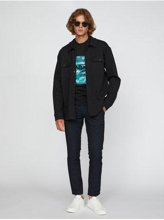 Černé pánské tričko s potiskem VANS Classic Print