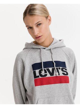 Mikiny pre ženy Levi's® - sivá
