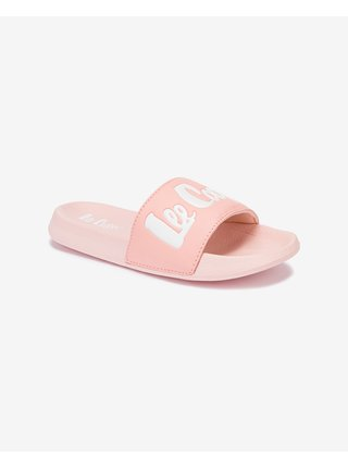 Papuče, žabky pre ženy Lee Cooper - ružová