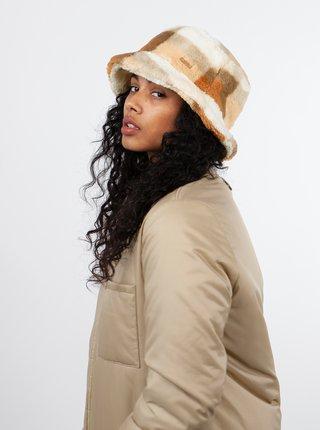 Béžový dámský kostkovaný klobouk BARTS