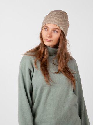 Béžová dámská čepice s příměsí vlny z alpaky BARTS