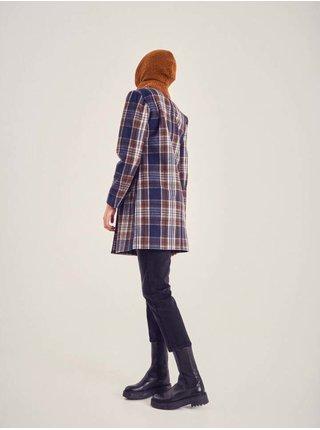 Trenčkoty a ľahké kabáty pre ženy ICHI - tmavomodrá, hnedá