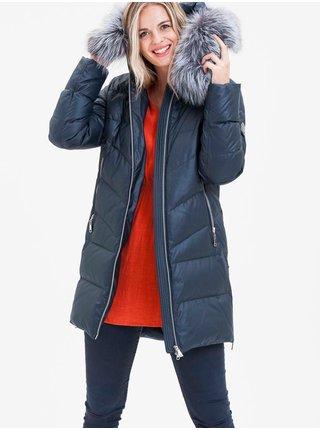 Zimné bundy pre ženy KARA - tmavomodrá