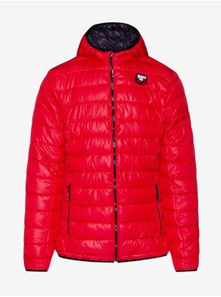Zimné bundy pre mužov SAM 73 - červená