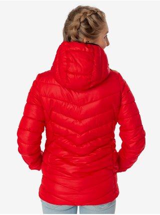 Červená dámská prošívaná bunda SAM 73 Evelyn