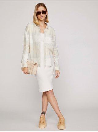 Spoločenské šaty pre ženy Guess - biela