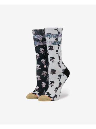 Ponožky pre ženy Stance - čierna, biela