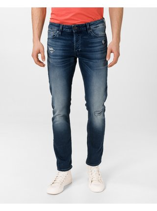 Slim fit pre mužov Jack & Jones - modrá