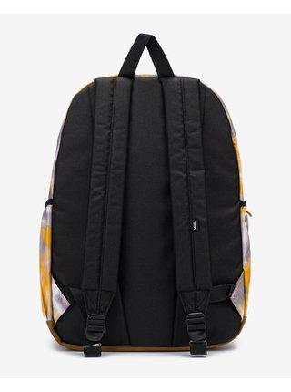 Fialovo-žlutý dámský batoh VANS Realm Plus