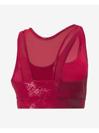 Růžová sportovní podprsenka Puma Fashion Luxe Ellavate