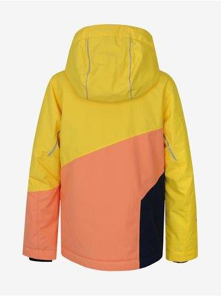 Marhuľovo-žltá detská zimná bunda Hannah