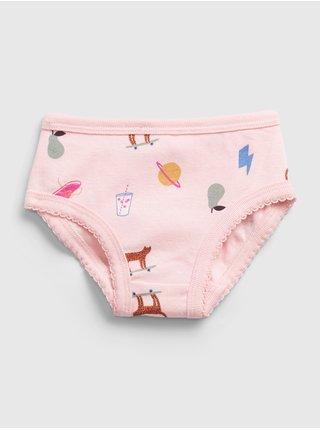 Barevné holčičí kalhotky spodní, 7ks GAP