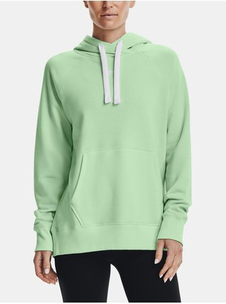Mikina Under Armour Rival Fleece HB Hoodie-GRN