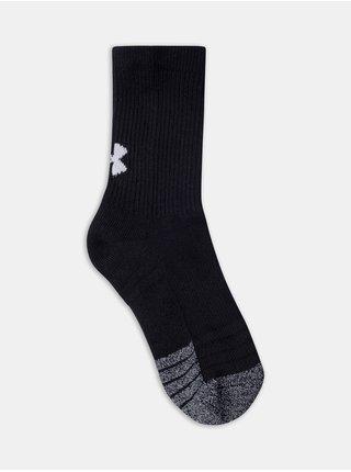 Ponožky Under Armour UA Yth Heatgear Crew 3pk-BLK