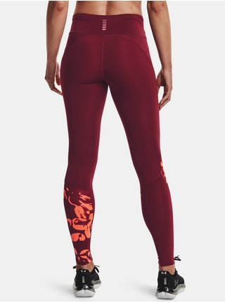 Legíny Under Armour UA Fly Fast 2.0 Print Tight-RED