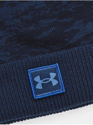 Čepice Under Armour UA Graphic Knit Beanie-NVY