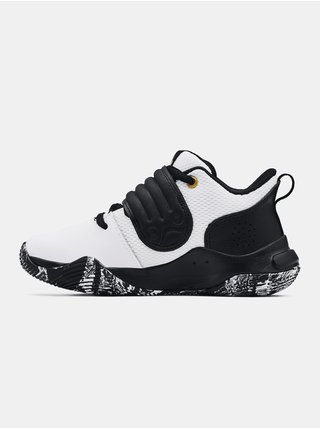 Boty Under Armour UA PS Zone BB-WHT