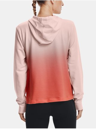 Mikina Under Armour Rival Terry Gradient Hoodie-PNK