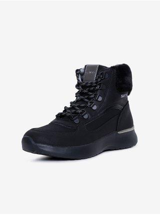 Čierne dámske členkové topánky SAM 73 Catrine