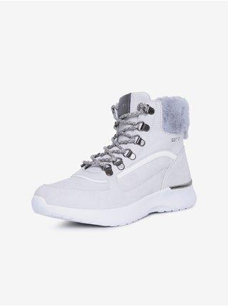 Biele dámske členkové topánky SAM 73 Catrine
