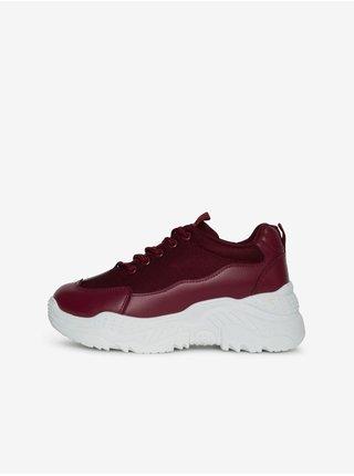 Vínové dámské boty SAM 73 Smita