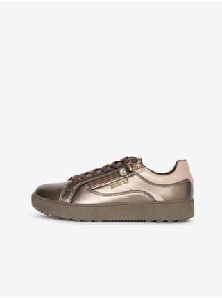 Bronzové dámské boty Boty SAM 73 Celine