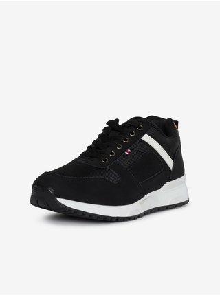 Bílo-černé pánské boty SAM 73 Giles