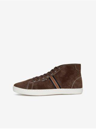 Hnedé pánske členkové topánky SAM 73 Frank