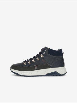 Tmavě modré pánské boty SAM 73 Carl