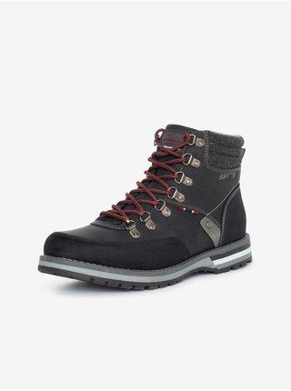 Černé pánské kotníkové boty SAM 73 Bert